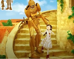 《The Girl and the Robot 》第一部分,游戏演示-独游魔盒